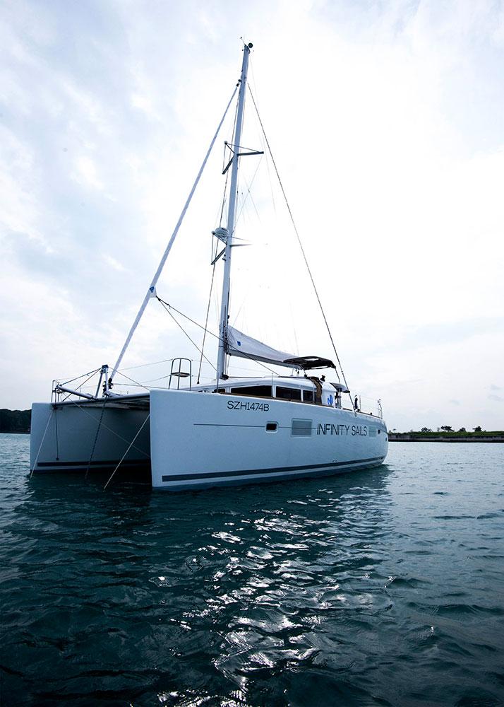 Yacht disewakan dengan harga mulai dari $150.