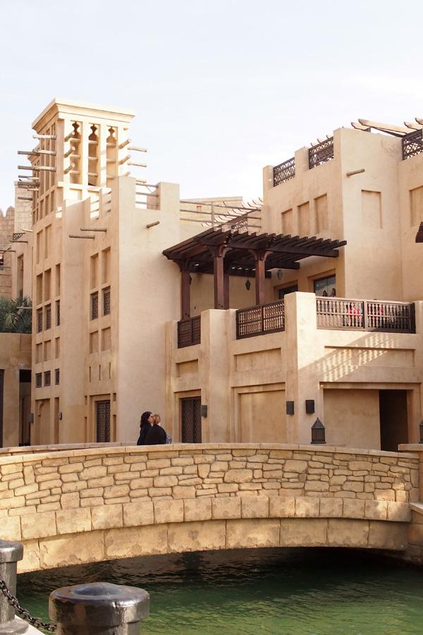 Fasad Souk Madinat Jumeirah.