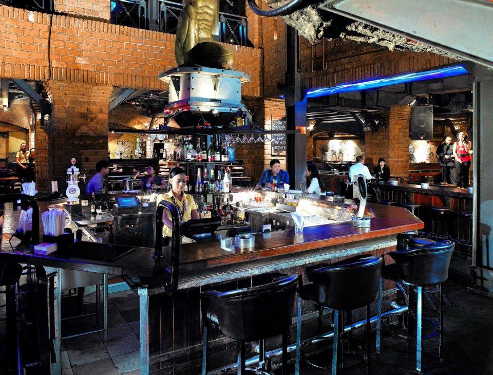 Area bar di B.A.T.S.