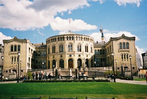 Bangunan tua di Oslo.