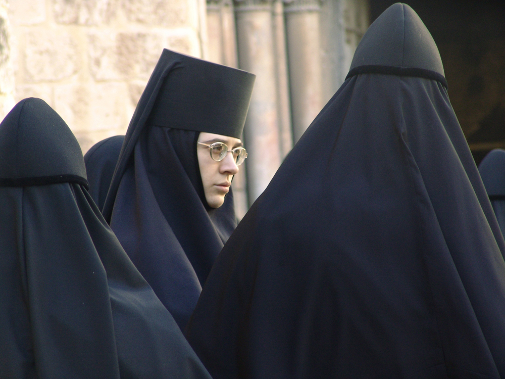 Biarawati di Yerusalem.