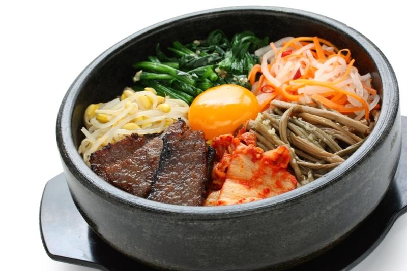 Bibimbap, sajian khas Korea yang menjadi favorit banyak orang di dunia.