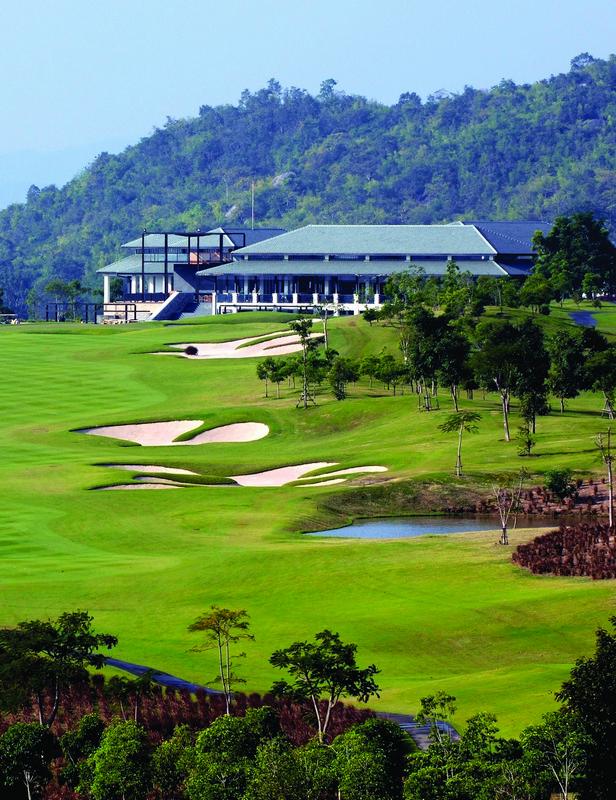 Black Mountain Golf Club di Hua Hin, Thailand.