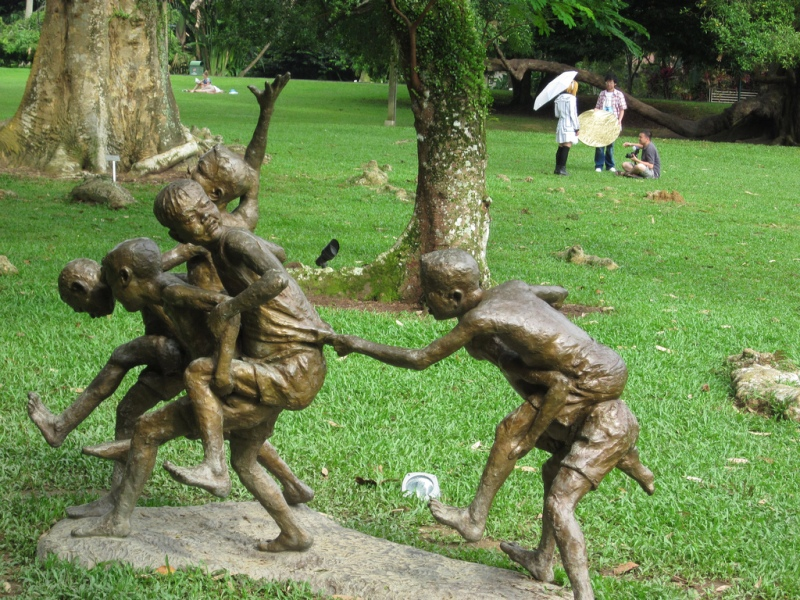 Botanical Garden, salah satu taman yang bebas diakses publik di Singapura. (Foto: Ken Marshall/Flickr)