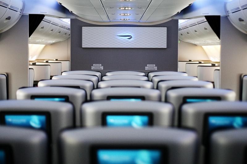 Armada A380 mampu menampung 469 penumpang terbagi dalam empat kelas.