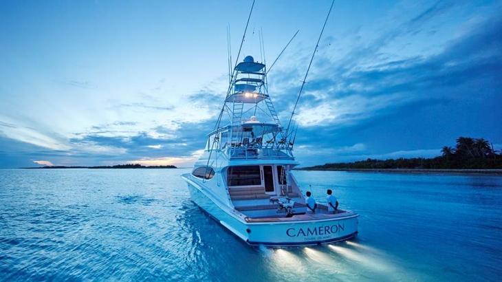 Kapal ini melayani tamu-tamu di dua properti COMO di Maladewa.
