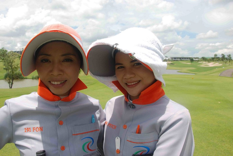 Caddy, senjata rahasia wisata golf di Asia.