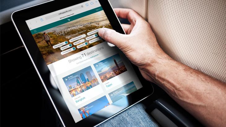 Penumpang dapat menikmati koneksi WiFi sepanjang perjalanan dengan harga mulai dari $10.