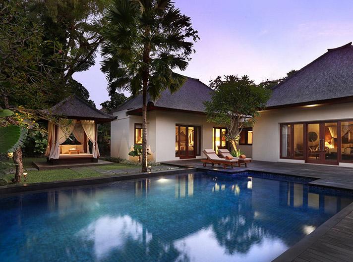 Villa Roselle dengan dua kamar.