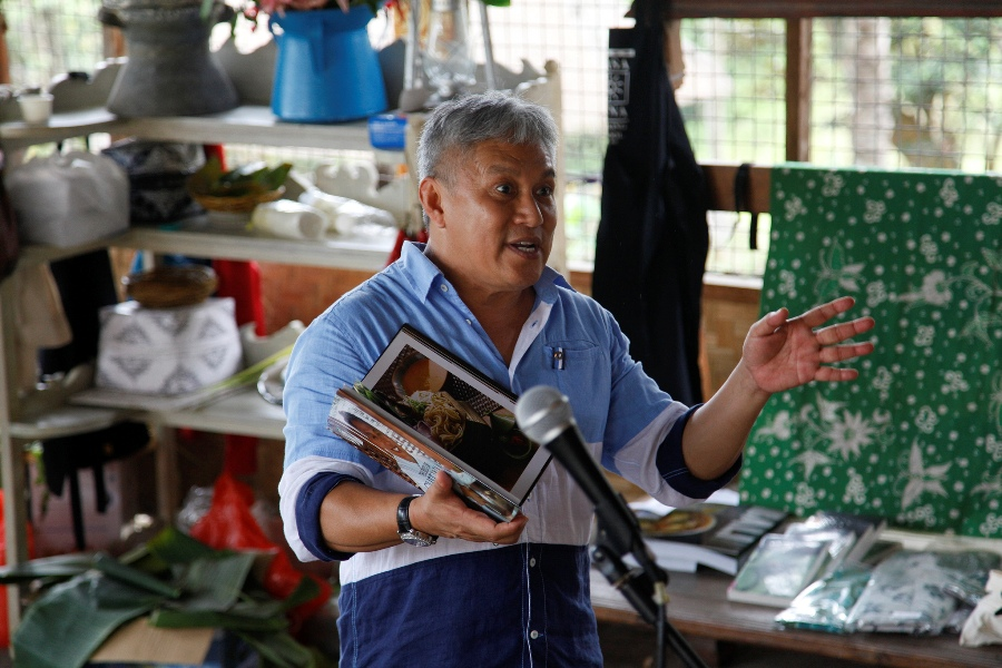 Chef Wan, koki selebriti asal Malaysia juga akan berpartisipasi dalam Ubud Food Festival. (Foto: Stanny Angga)