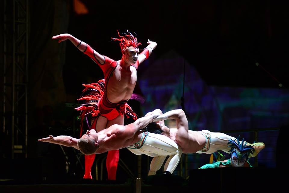 Pertunjukan Cirque du Soleil yang selalu dinanti.
