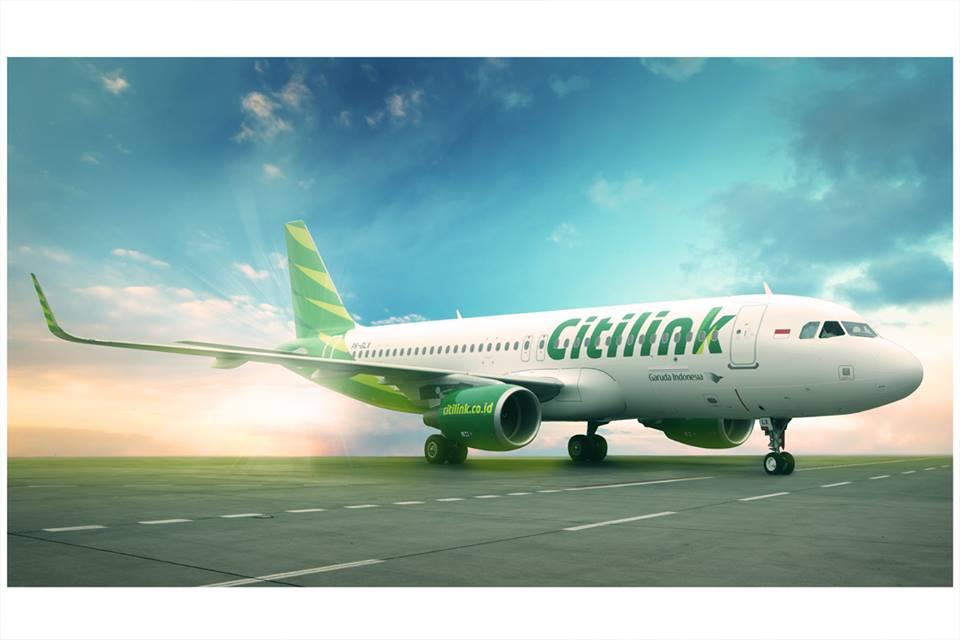Armada A320 sharklet baru yang digunakan oleh Citilink.