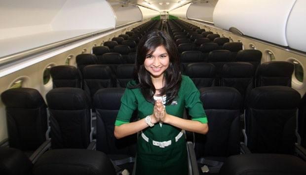 Penerbangan akan dilayani tiga kali per hari.