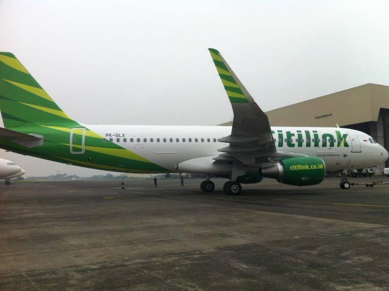 Penumpang Citilink kini tak perlu antre di loket pembayaran <i>airport tax</i>.