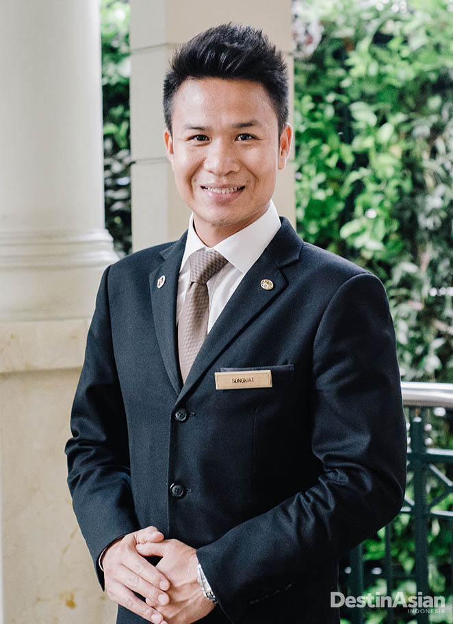 James, concierge dengan pengetahuan tentang Bangkok yang menakjubkan.