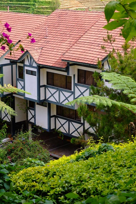 Fasad unit apartemen di Copthorne Hotel Cameron Highlands.