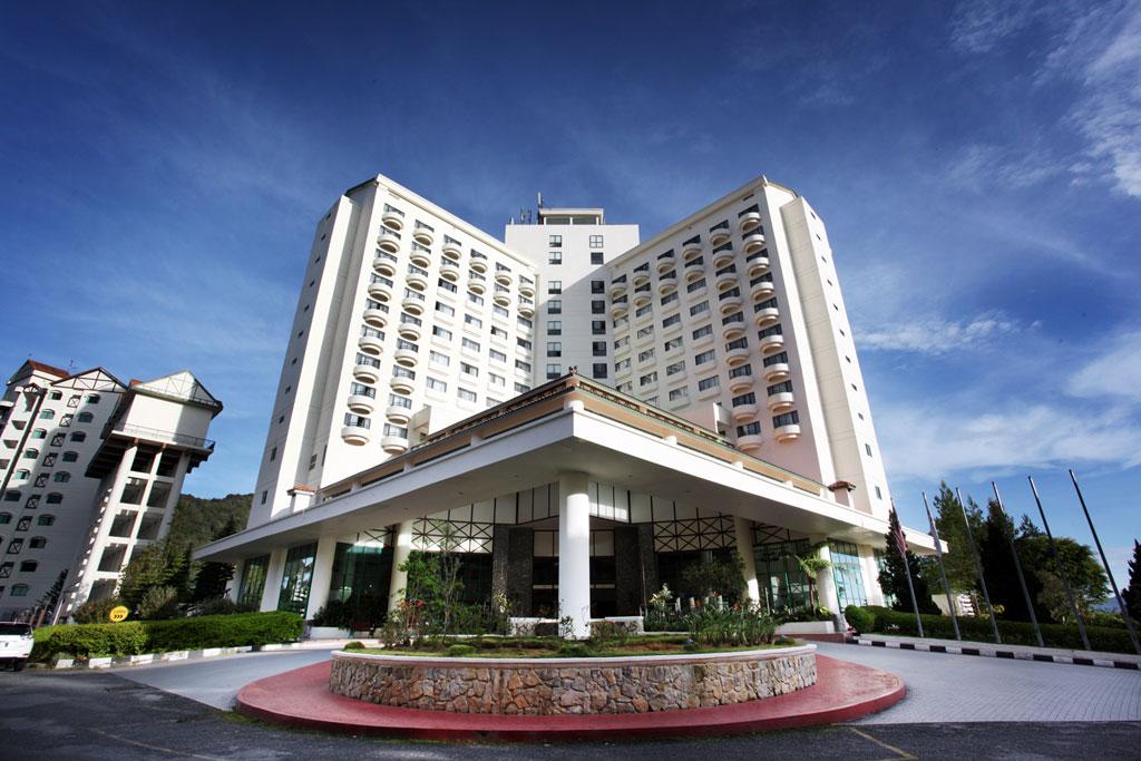 Fasad Copthorne Hotel Cameron Highlands.