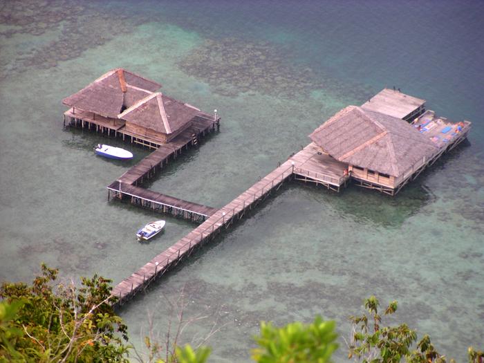 Salah satu kamar Cubadak Paradiso Village dilihat dari udara. (Foto: Cubadak Paradiso Village)