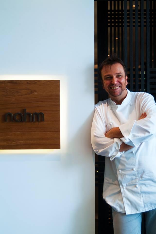 David Thompson, koki dari restoran Nahm di Bangkok.