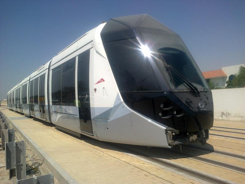 Dubai Tram mengadopsi sistem trem di Eropa.