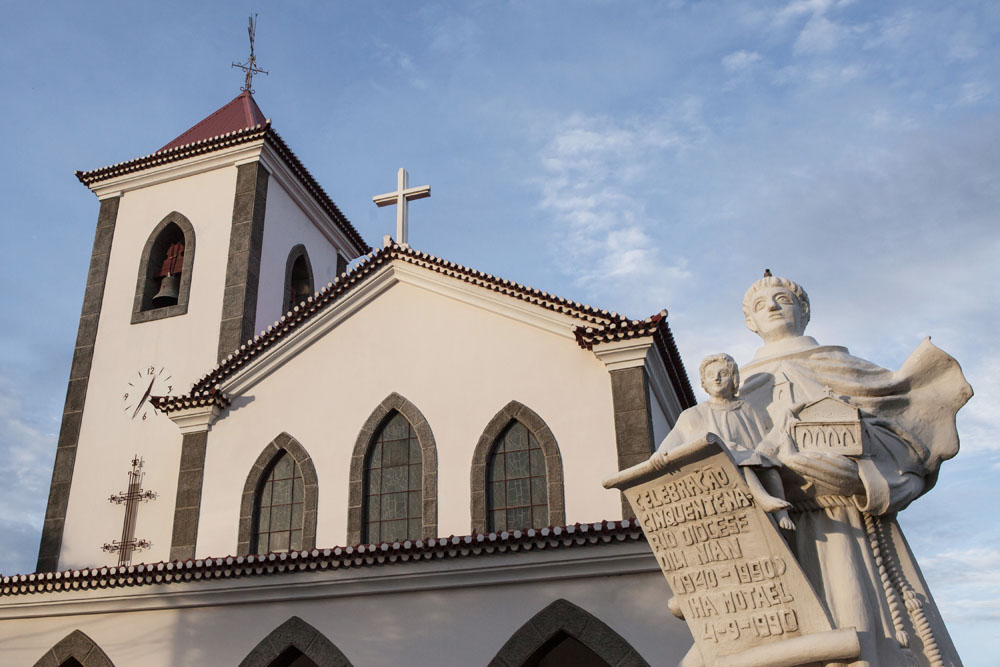 Gereja Motael di Dili, gereja tertua di Timor.