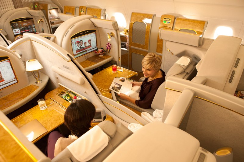 Image result for emirates first class pesawat mewah