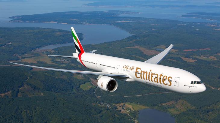 Ketiga penerbangan dari Dubai ke Roma dan sebaliknya dioperasikan menggunakan armada Boeing 777-300ER.