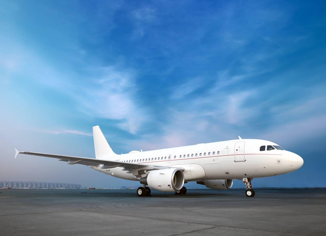 Pesawat Airbus A319.