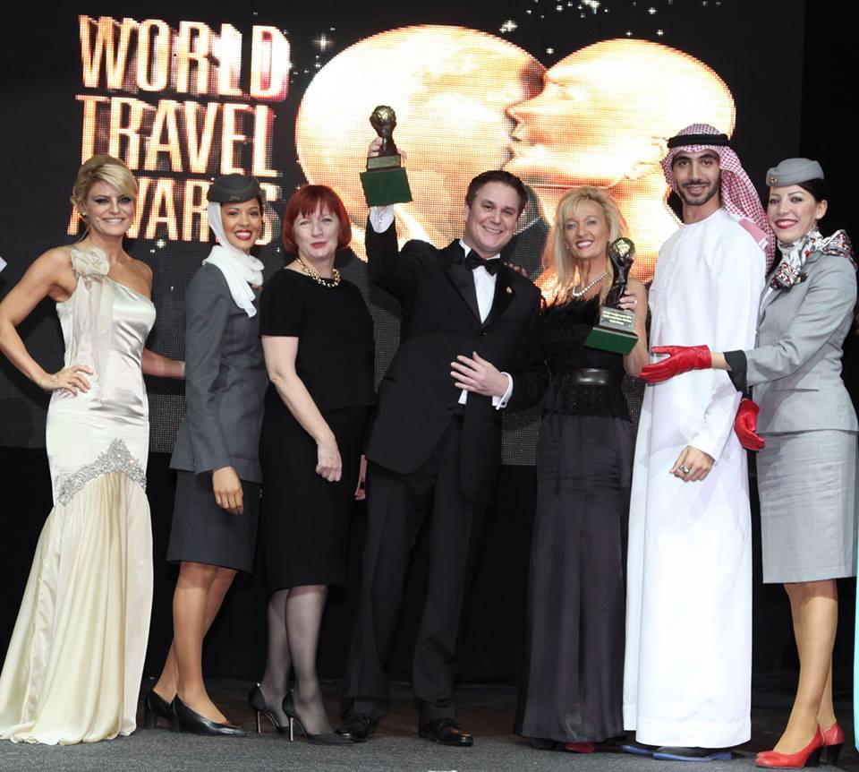Ini adalah tahun kelima Etihad menyabet gelar maskapai terbaik di ajang World Travel Awards.