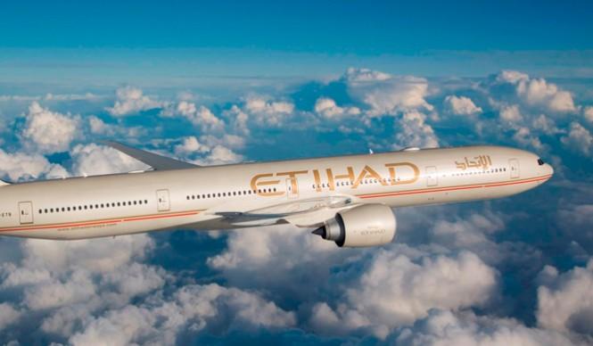 Awak B777-300ER milik Etihad Airways.