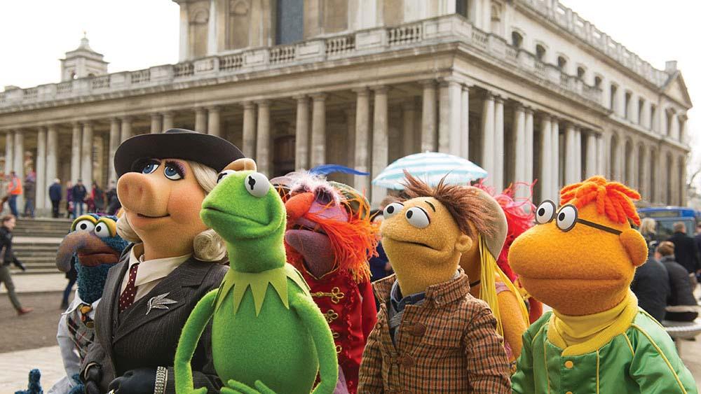 Boneka-boneka Muppets di New York Children's Festival.