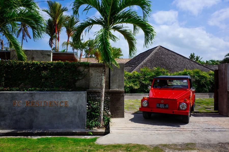Gerbang FC Residence Bali.
