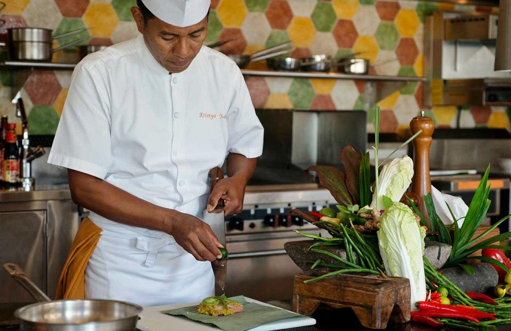Kelas akan dipimpin koki asli Bali dengan pengalaman lebih dari 20 tahun di dunia kuliner.