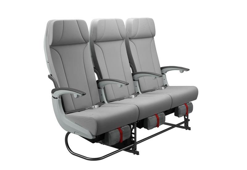 Kursi kelas ekonomi lebih nyaman dengan luas 31 inci.