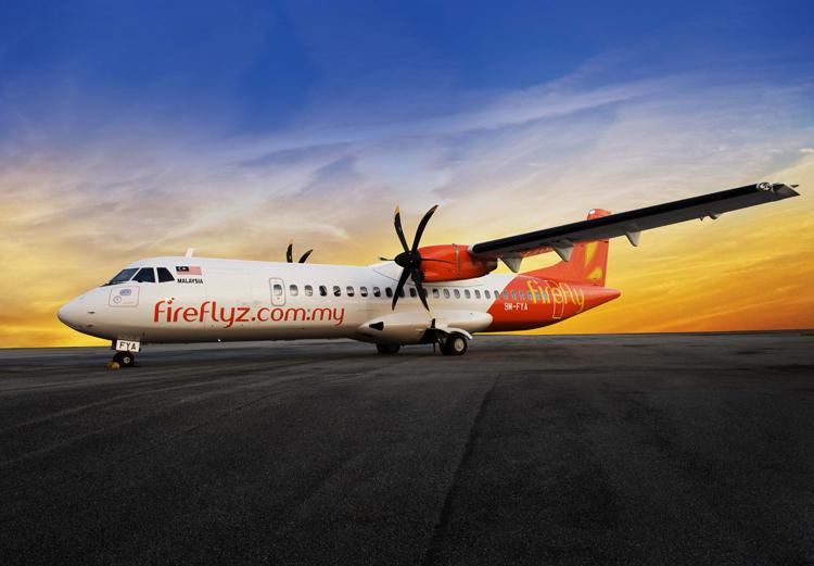 Armada ATR 72-500 milik maskapai Firefly.