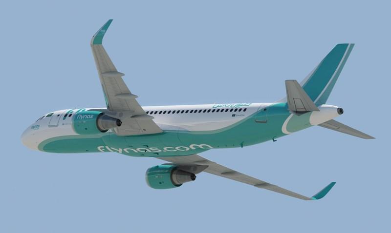 flynas akan terbang tiga kali per minggu menghubungkan Jeddah dan Jakarta.