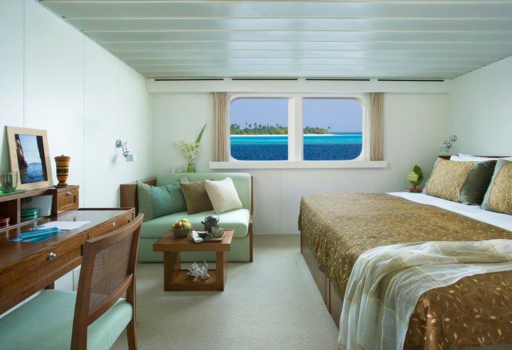 Salah satu kamar di Four Seasons Explorer.