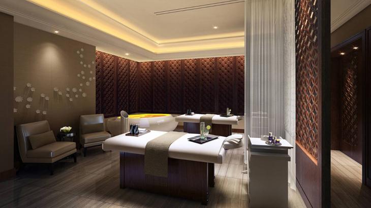 Hotel ini juga dilengkapi dengan fasilitas The Spa yang tersohor.