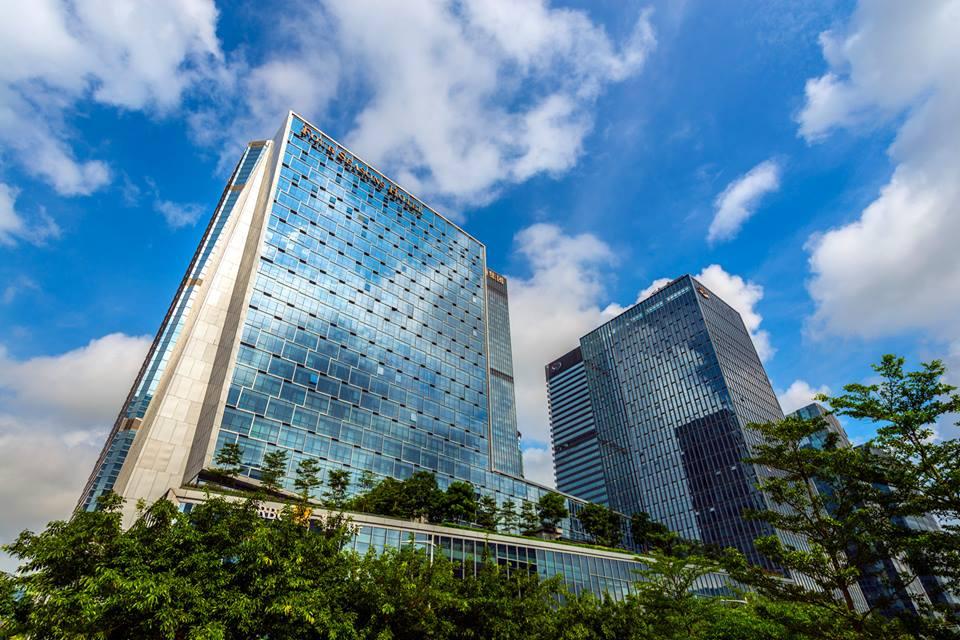 Fasad Hotel Four Seasons Shenzhen.
