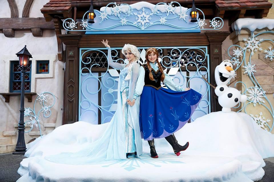 Frozen Village akan menyemarakkan Disneyland pada musim panas ini.