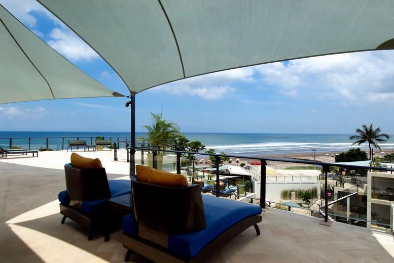 FuramaXclusive menawarkan pemandangan Samudra Hindia.
