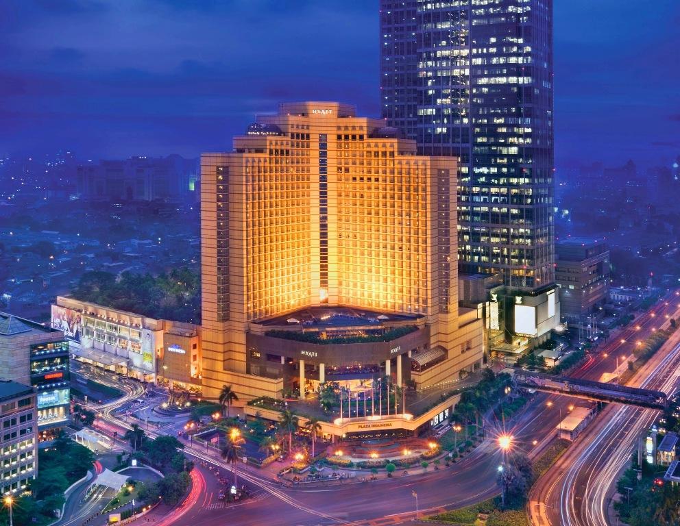 Fasad Grand Hyatt Jakarta.