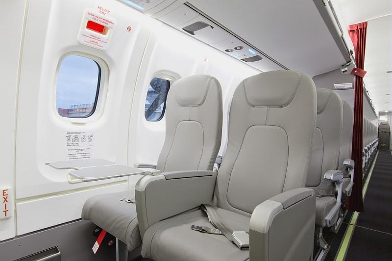 ATR72-600 berkapasitas 70 penumpang.