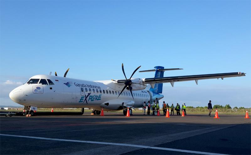 Armada ATR72-600, salah satu pesawat berbodi ramping tercanggih saat ini.