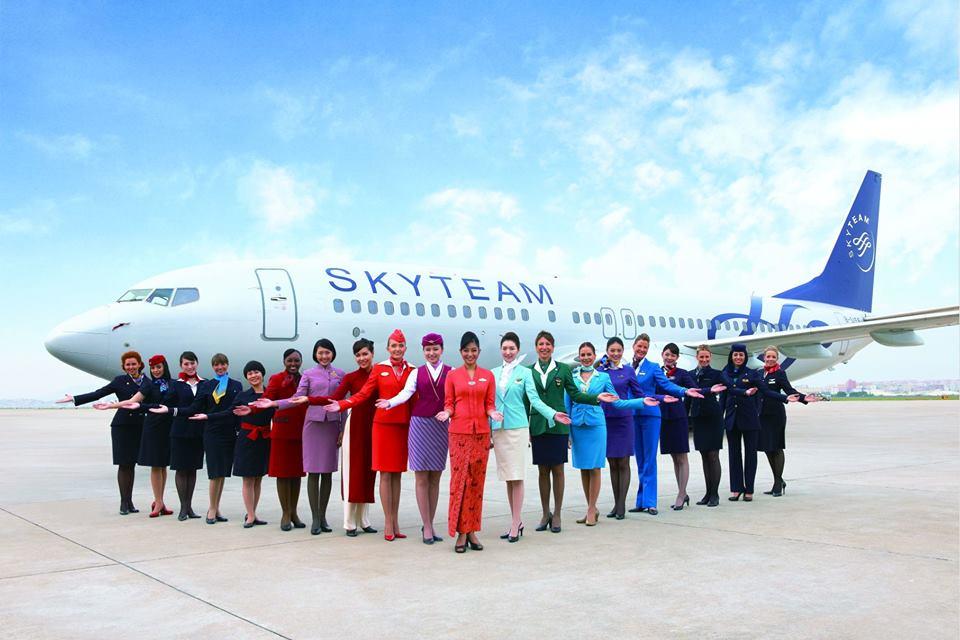 Keanggotaannya di SkyTeam membantu Garuda meningkatkan pelayanan.