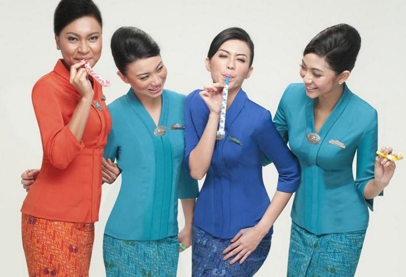 Untuk kedua kalinya Garuda Indonesia menyabet predikat Awak Kabin Terbaik.