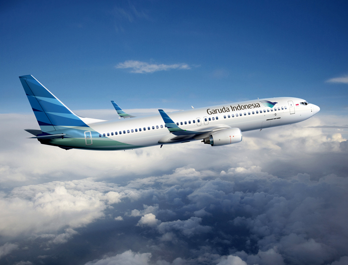 Garuda Indonesia melayani penerbangan langsung ke Beijing lima kali per minggu.