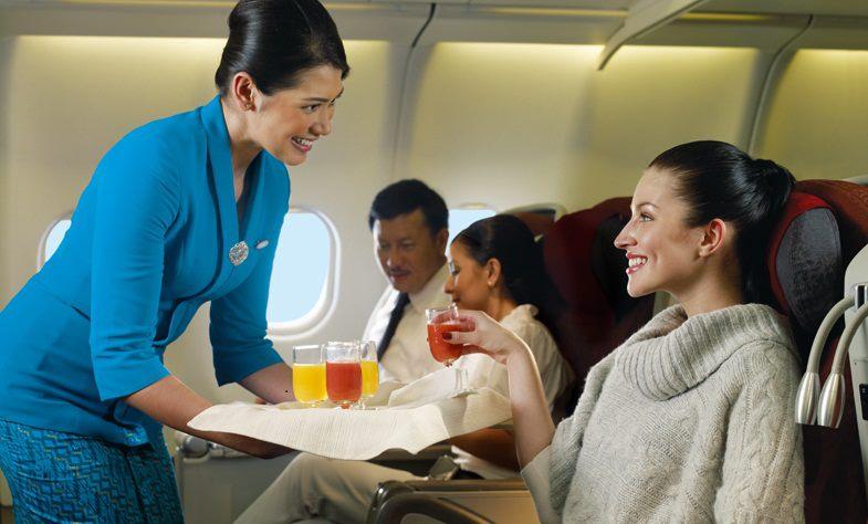 Garuda Indonesia dan pelayanan paripurna.