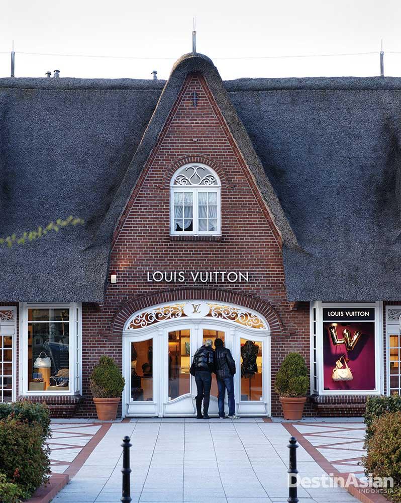 Gerai Louis Vuitton di Kampen, desa paling trendi di Sylt. (Foto: Getty Images)