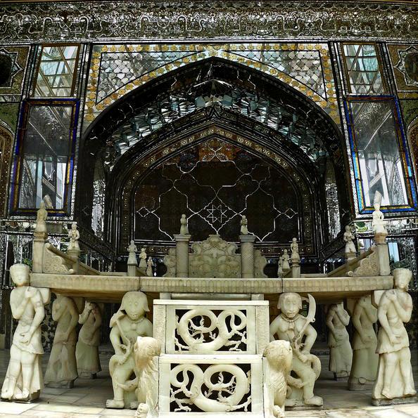 Istana Golestan di Iran.